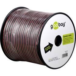Goobay 67736 kabel za zvočnik 2 x 2.50 mm² rdeča/črna 25 m