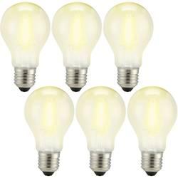 LED Glödlampsform E27 Sygonix Filament 6 W 810 lm A++ Varmvit 6 st