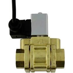 Greisinger 603934 detektor vode z elektromagnetnim ventilom za izklop, z zunanjim senzorjem električni pogon