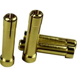 Adapterski konektor [1x 4 mm vtič s pozlačenimi kontakti - 1x 5 mm vtičnica s pozlačenimi kontakti] Reely