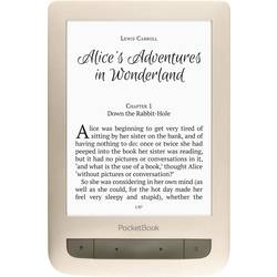 Läsplatta 6  PocketBook Touch Lux 3 Guld (matt)