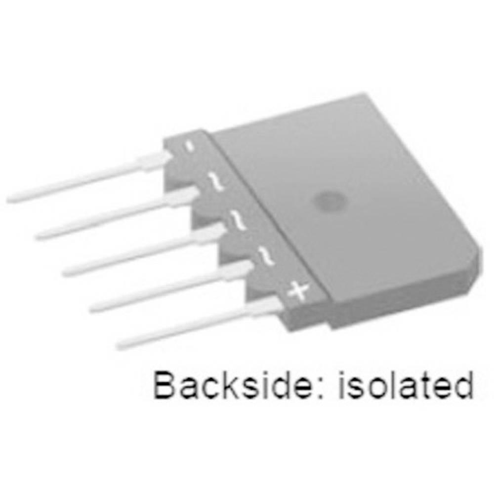 Mostični usmernik IXYS GUO40-16NO1 SIP-5 1600 V 40 A trifazni