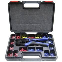 WKK 60318 Asortima Crimp priključkov 0.50 mm² 6 mm² Rdeča, Modra, Rumena 1 set