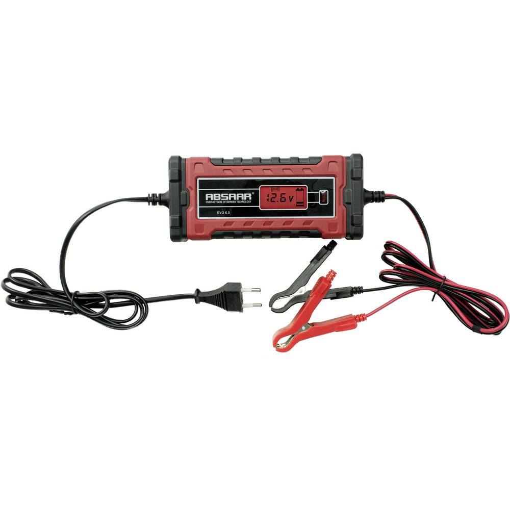 Automatisk oplader Absaar EVO 6.0 158002 12 V, 24 V 6 A 3 A