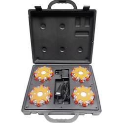 Havariblink 12 V, 24 V, 230 V Batteridrevet Magnet-montering Orange Profi Power