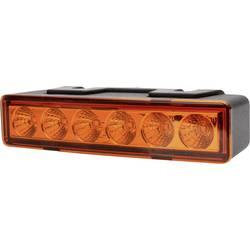 Frontlys 12 V, 24 V via ledningsnet Opbygning, Indbygning, Skruemontering Orange WAS E20 ECE 65R-00 1570 · E20 10R-04 4022