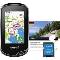 Garmin Oregon 700 + TOPO Deutschland V8 Pro Outdoor Navi Cykler, Båd, Geocaching, Vandring Tyskland GLONASS, GPS, inkl. topograf