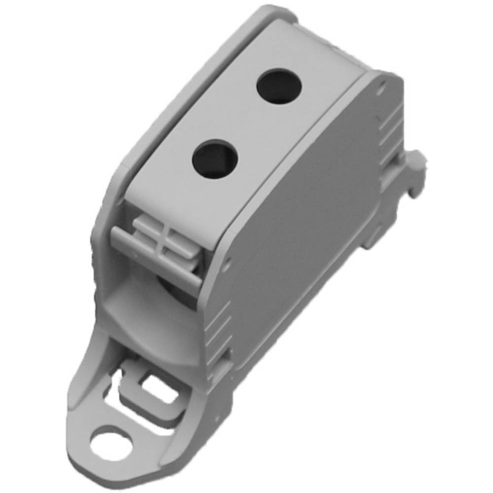 HoraeTec 106300 vrstna sponka pa sivo-bela (ral 7035) 1-polni 150 A, 120 A 600 V Vrste vodnikov = L