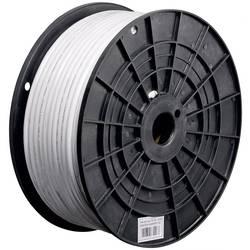 Goobay 67156 koaksialni kabel Zunanji premer: 8.10 mm 75 Ω 125 dB bela 100 m