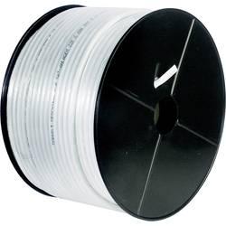Goobay 67101 koaksialni kabel Zunanji premer: 4.60 mm 75 Ω 80 dB bela 100 m