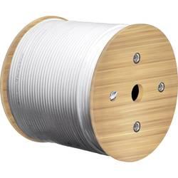 Goobay 67329 koaksialni kabel Zunanji premer: 17 mm 75 Ω 80 dB bela 100 m