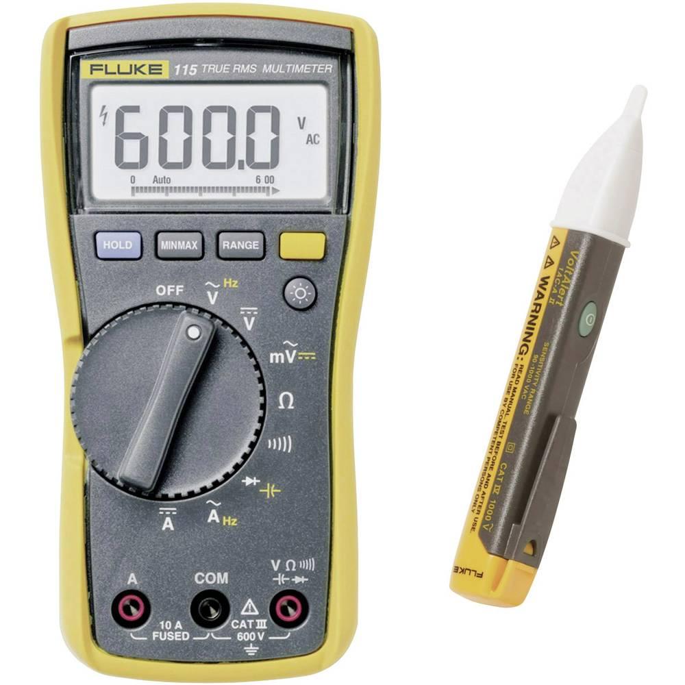 Ročni multimeter Fluke FLK-115/1 ACII Kalibracija narejena po: delovnih standardih (brez certifikata)
