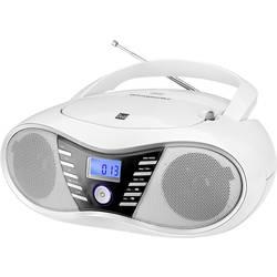 FM CD-radio Dual P 60 BT AUX, Bluetooth, USB, FM Vit