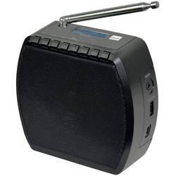 FM Radio & väckarklocka Dual STR 101 Bluetooth, USB Svart