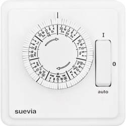 Podžbukni vremenski prekidač Analogno Tjedni program Suevia SU280440 2200 W IP20 Program ON/AUTO/OFF