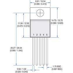 PMIC - gonilnik vrat IXYS IXDN609CI neinvertiran Low-Side TO-220-5