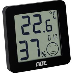 ADE WS 1707 termometar/vlagomjer, crne boje