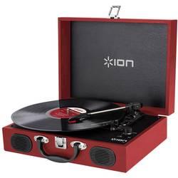 Skivspelare ION Audio Vinyl Transport Röd