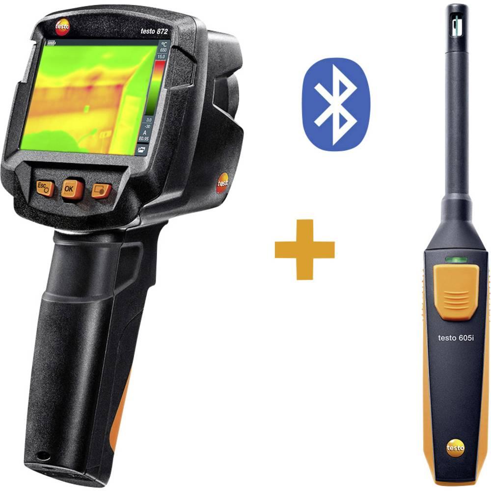 Termovizijska kamera testo 872 KIT -30 do +650 °C 320 x 240 pikslov 9 Hz