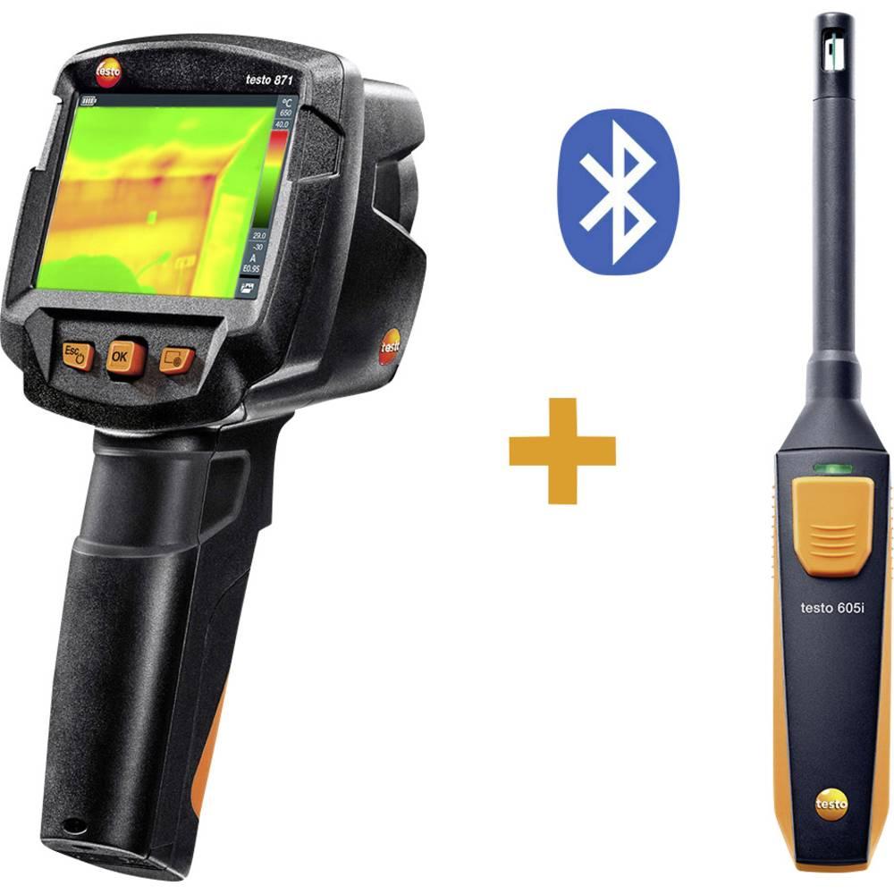 Termovizijska kamera testo 871 KIT -30 do +650 °C 240 x 180 pikslov 9 Hz