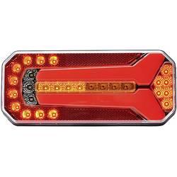 LED zadnja luč za prikolico, smernik, zavorna luč, meglenka, leva, desna 12 V, 24 V večbarvna WAS prozorno steklo