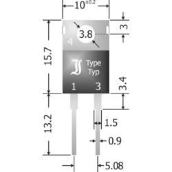 Schottky-barrier ispravljačka dioda TRU Components TC-SBT1040 TO-220AC 40 V 10 A