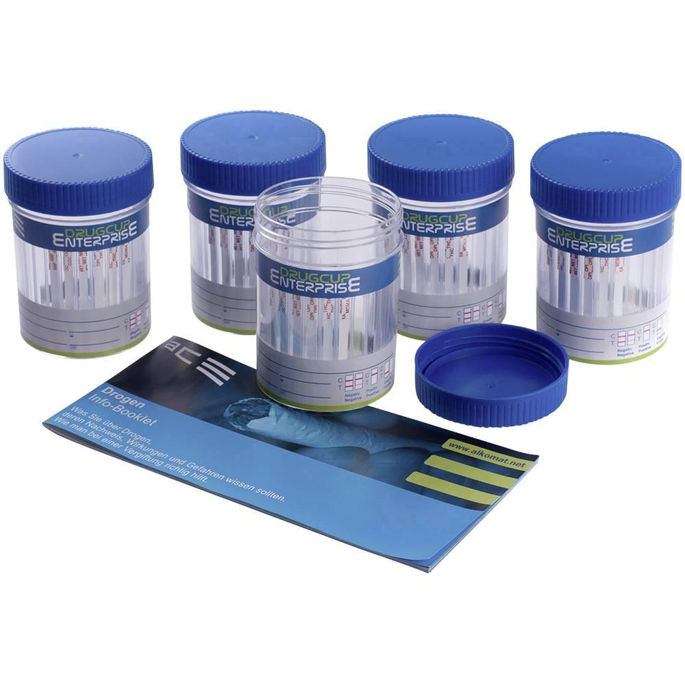 Komplet testerjev za droge Test urina ACE Drug Cup Enterprise 100336 Testiranje drog=Amfetamin, Kokain, MDMA, Metamfetamin, Opia