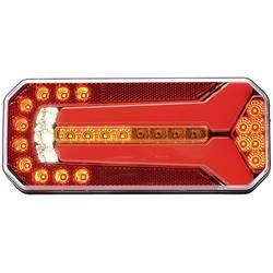 LED zadnja luč za prikolico, smernik, zavorna luč, luč za vzvratno vožnjo, zadnja meglenka, leva, desna 12 V, 24 V večbarvna WAS
