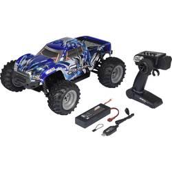 Reely Cyclone krtačni 1:10 RC Einsteiger model avtomobila na daljinsko vodenje, Monstertruck, pogon na vsa kolesa, 100% RtR, 2,4