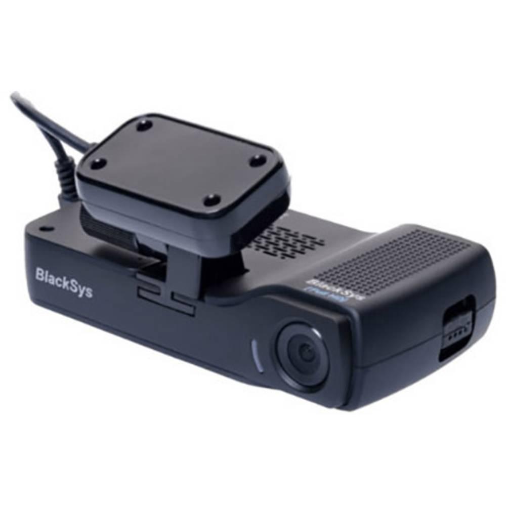 BlackSys CH-200 Wifi Dashcam Avtomobilska kamera z GPS-sistemom Razgledni kot - horizontalni=135 ° 11.8 V Akumulator, Dual kamer
