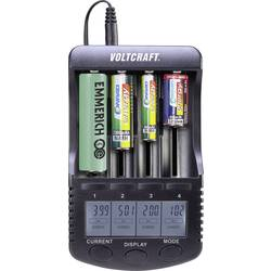 Polnilna naprava za okrogle baterije NiMH, NiCd, LiIon VOLTCRAFT CC-2 Mignon (AA), Micro (AAA), Baby (C), Sub-C, 26650, 26500, 1