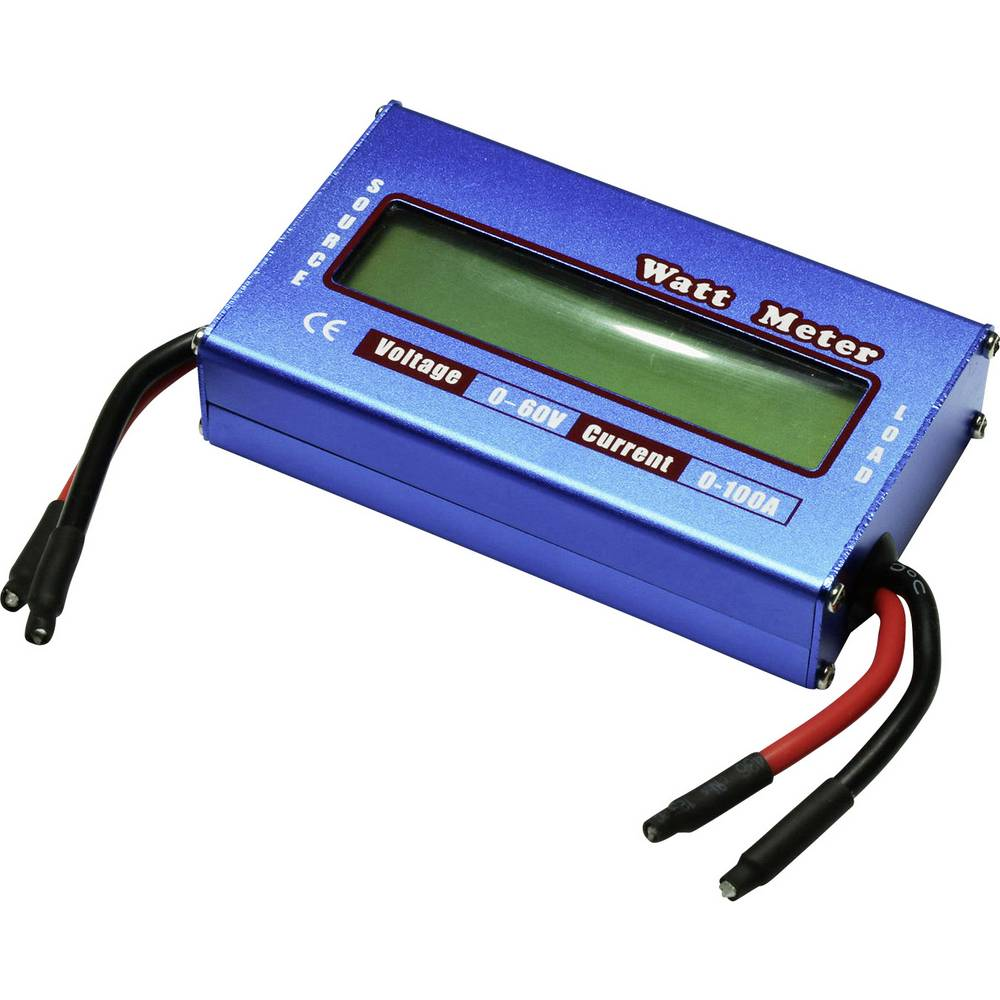 Watt meter EXTRON Modellbau 80 A Vtični sistem: Odprt konec kabla