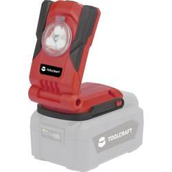 TOOLCRAFT Osvetlitev gradbišča Polnilna luč Floodlight Tcld 20-Li Solo 1613606 Rdeča, Črna