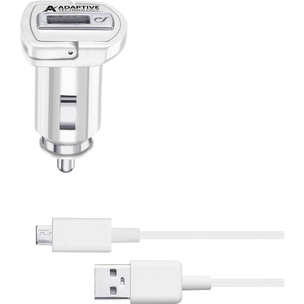 USB-oplader Cellularline CBRSMKIT15WMUSBW 39231 Personbil, Lastbil Udgangsstrøm max. 2400 mA 1 x USB 2.0 Buchse A (value.1390697