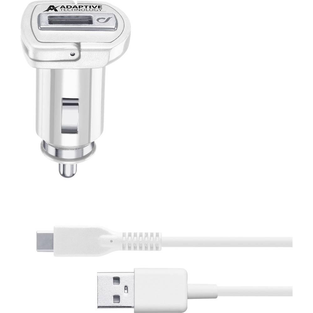 USB-oplader Cellularline CBRSMKIT15WTYCW 39230 Personbil, Lastbil Udgangsstrøm max. 2400 mA 1 x USB 2.0 Buchse A (value.1390697)