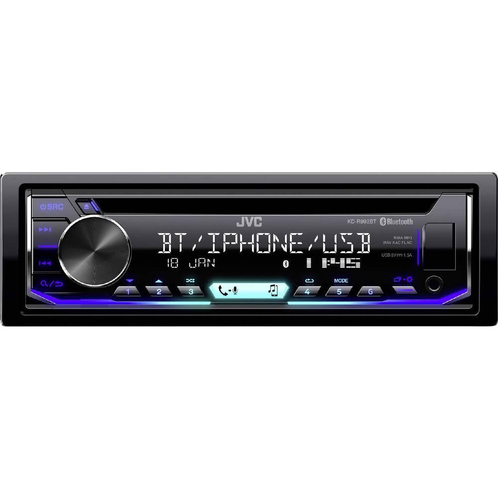 JVC KD-R992BT avtoradio, Bluetooth® prostoročno telefoniranje, priključek za volanski daljinski upravljalnik