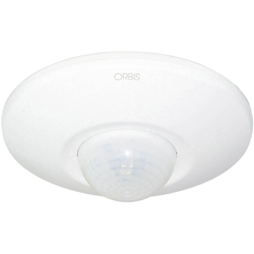 ORBIS Zeitschalttechnik OB134912 nadometna, strop javljalnik gibanja 360 ° bela ip20