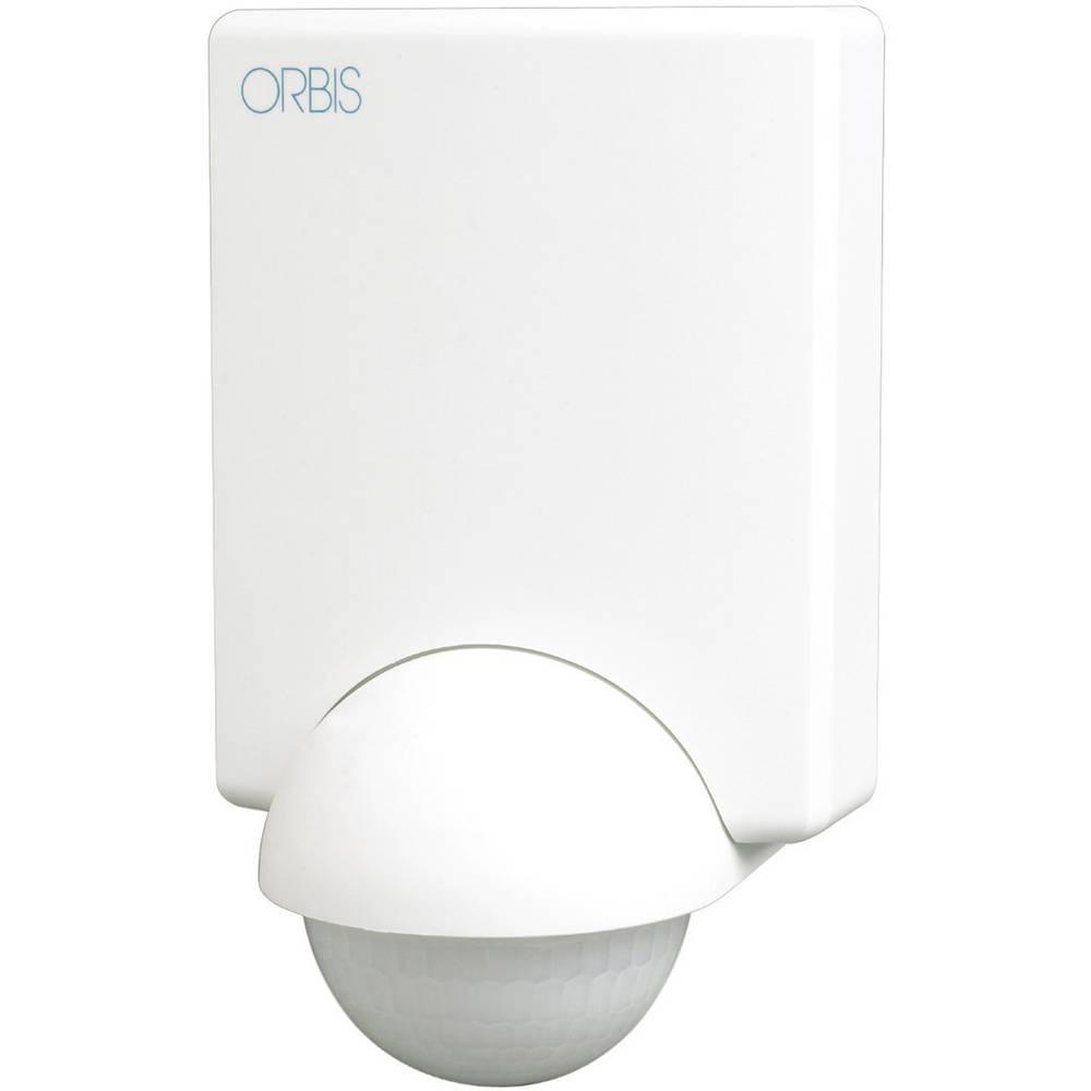 ORBIS Zeitschalttechnik OB132312 nadometna, stena javljalnik gibanja 240 ° bela ip55