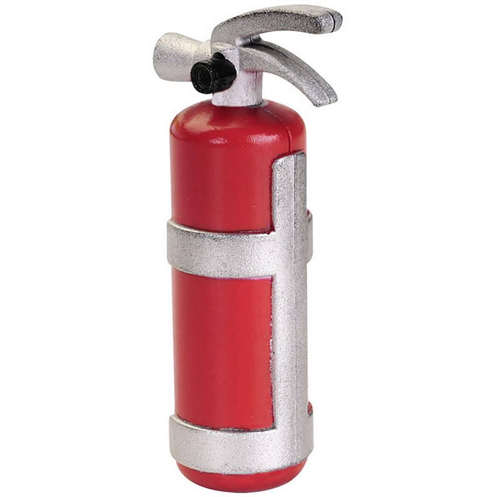 Absima 1:10 Barvni gasilni aparat Rdeča, Srebrna