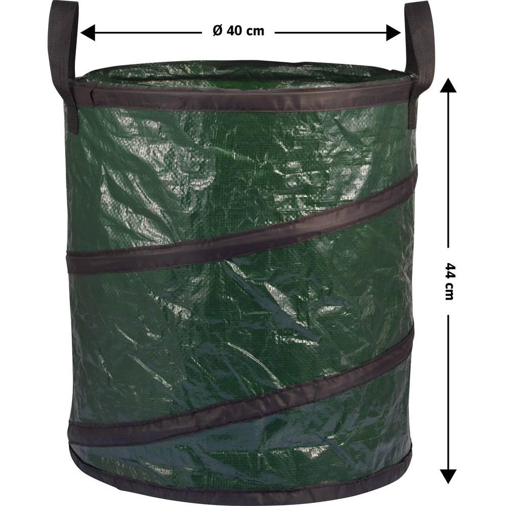 Vrtna torba 56 l Basetech zelene barve BT-1702852