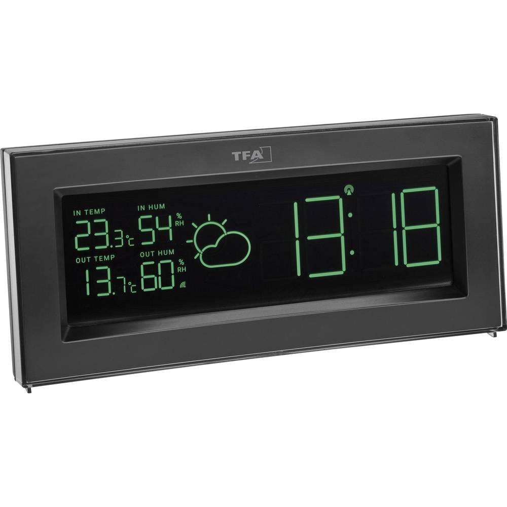 digitalna brezžična vremenska postaja TFA COLORIS 35.1147.01 črna