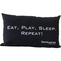 Kudde GAMEWAREZ EAT, PLAY, SLEEP. REPEAT! Svart