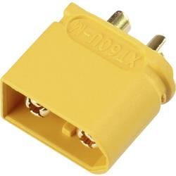 Akumulatorski vtič XT60U pozlačen 1 kos Reely 1619404