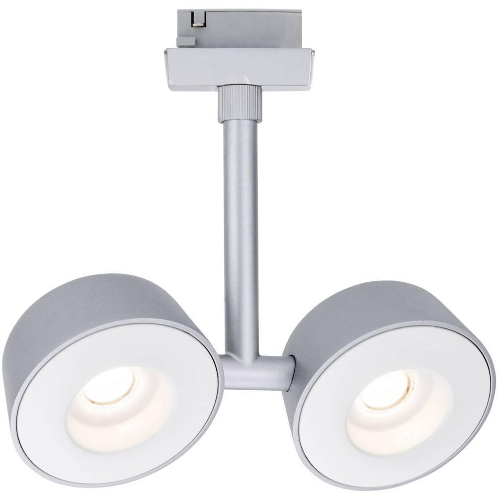 Svetilka za visokonapetostni tračni sistem VariLine (2-fazni) LED trajno nameščena 15 W LED Paulmann Double krom (mat), krom