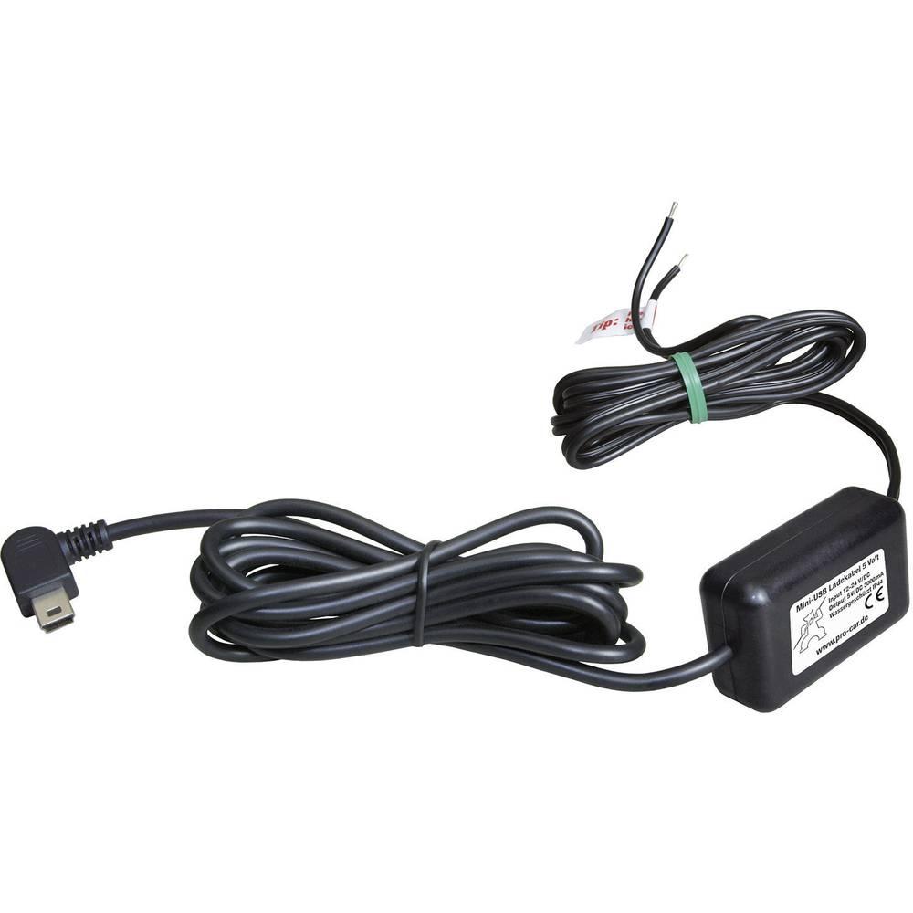 ProCar Mini USB polnilni kabel IP44 3000 mA maks. tokovna obremenitev=3 A