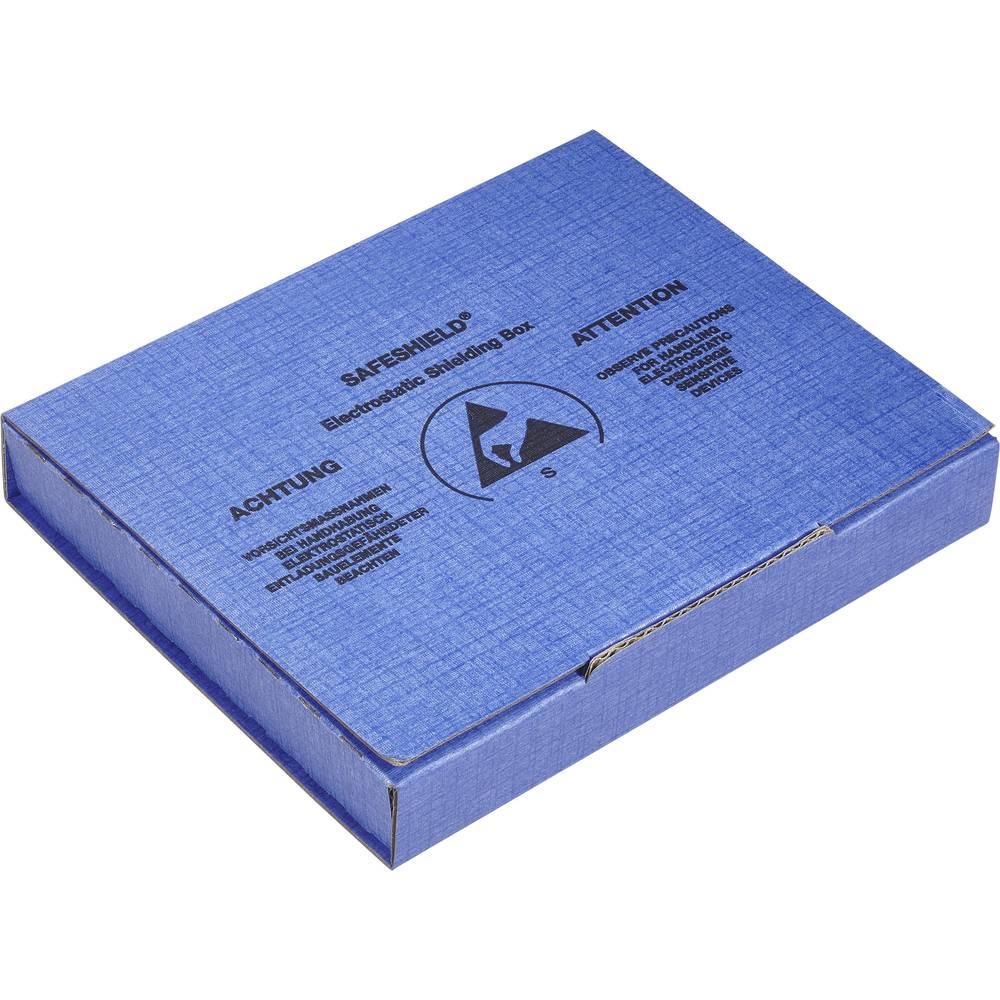 ESD embalaža (D x Š x V) 100 x 60 x 15 mm prevodna Wolfgang Warmbier 5510.908