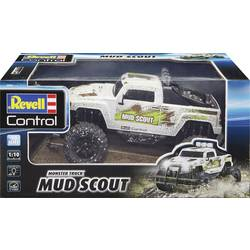 Revell Control 24643 New Mud Scout 1:10 RC Avtomobilski model za začetnike Elektro Monster Truck 2WD