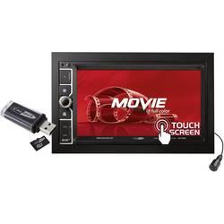 Caliber Audio Technology 801DAB-BT dvojni DIN multimedijski avtoradio, DAB+ Tuner, priključek za volanski daljinski upravljalnik