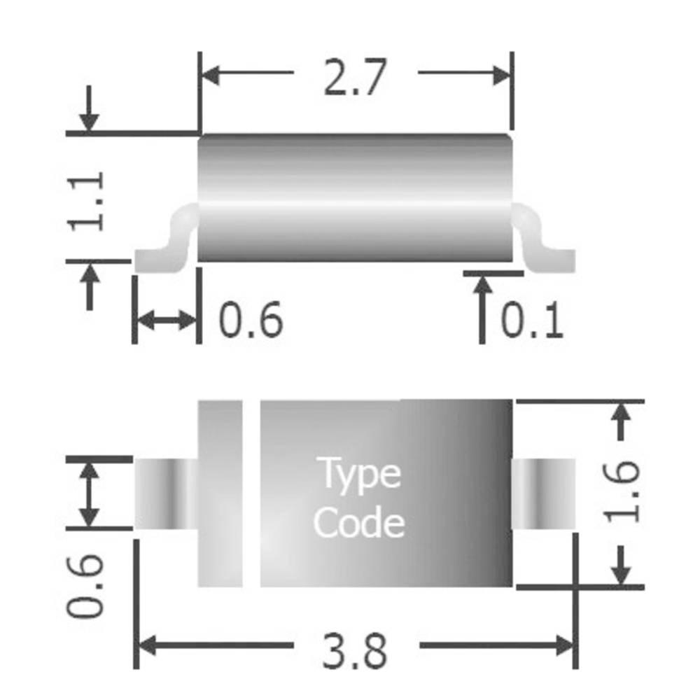Univerzalna Silicijskia diodaDiotec I(F)(AV) 150 mA, napon(U) 75 V 1 N 4148 W