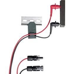 Varnostni merilni kabel-set [testna konica - MC-vtič] črne, rdeče barve Gossen Metrawatt Z502Y